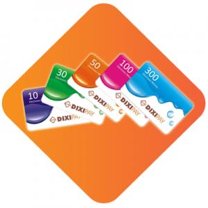 IXIPAY Prepaid Cards